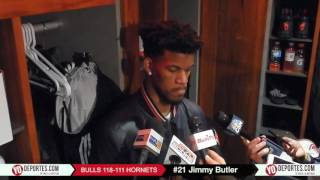 Jimmy Butler 52 points his second career 50 Point game Bulls 118-111 Hornets