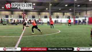 Berber Stars vs Mercadito  Liga Latinoamericana Martes