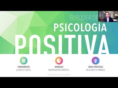 Seminario virtual Psicología Positiva aportes al coaching y bienestar organizacional.