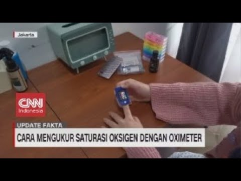 Cara Mengukur Saturasi Oksigen dengan Oximeter