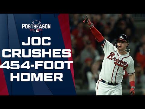 JOCTOBER CONTINUES! Joc Pederson crushes a 454-foot home run off Max Scherzer!