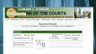 Find Court Date