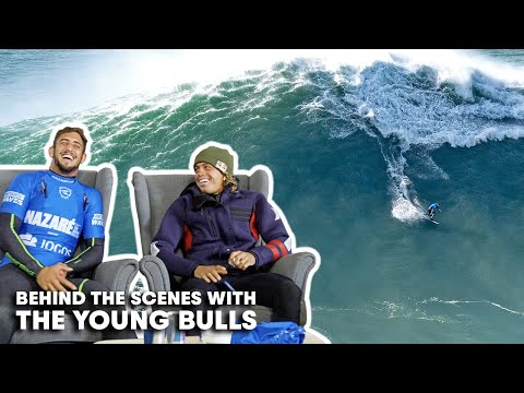 Step Inside The Moments Leading Up To Kai And Chumbo's Epic Young Bulls Performance At Nazaré