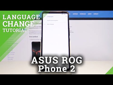 How to Change Language in ASUS ROG Phone 2 – Language List