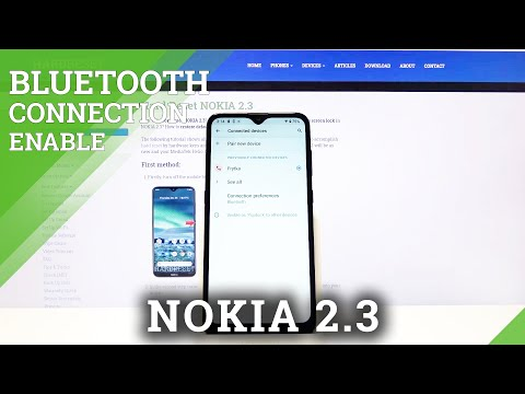 How to Connect Nokia 2.3 through Bluetooth – Connection Settings