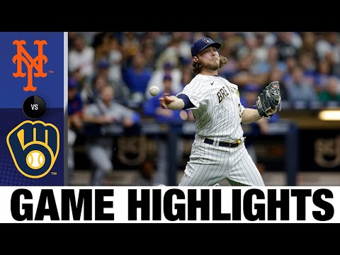 Mets vs. Brewers Game Highlights (9/25/21) | MLB Highlights