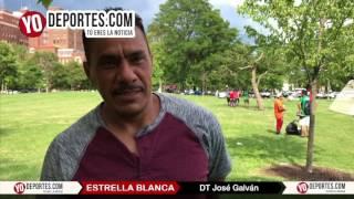 Jose Galvan DT del Estrella Blanca Liga Douglas Chicago