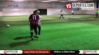 Atlético vs. Marte More Ligas Unidas de Chicago Soccer League