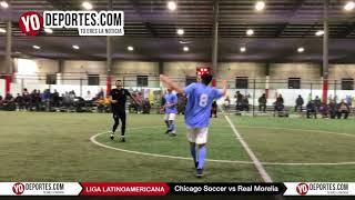 Chicago Soccer vs Real Morelia Champions Liga Latinoamericana