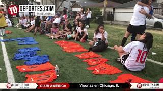 Club America Visorias Para Mujeres en Chicago