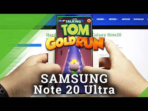 Test Talking Tom Gold Run on SAMSUNG Galaxy Note 20 Ultra – Drops / Crashes / FPS Checkup