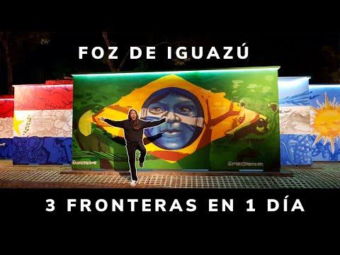 😱¡Pisé 3 países en 1 día!   Brasil, Argentina y Paraguay