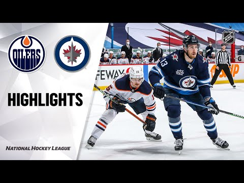 Oilers @ Jets 4/17/21 | NHL Highlights