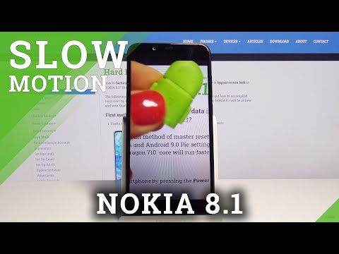 How to Record in Slow Motion on Nokia 8.1 – Camera Modes