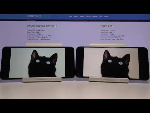 Display Comparison SAMSUNG Galaxy A21s vs OPPO A52 – Check Differences