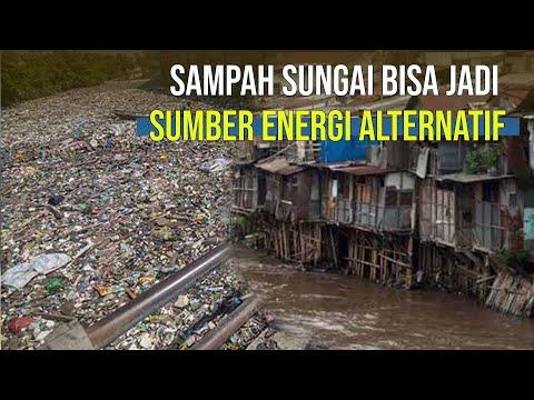 Pemanfaatan Sampah Sungai Ciliwung Jadi Sumber Energi Alternatif
