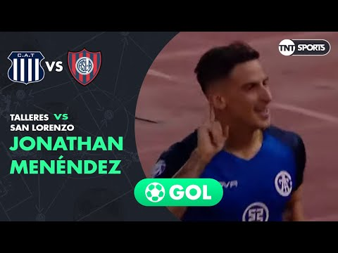Jonathan Menéndez (1-0) Talleres vs San Lorenzo | Fecha 20 - Superliga Argentina 2019/2020