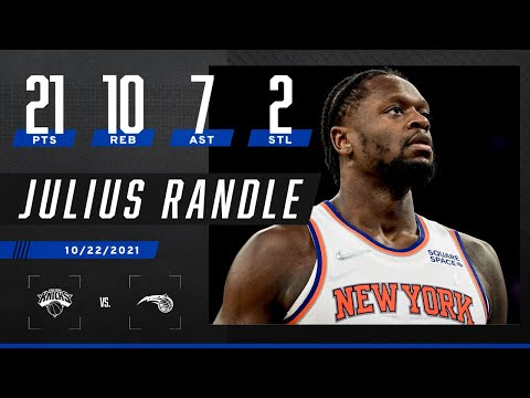 Julius Randle DOES IT ALL with 21 PTS, 10 REB, 7 AST & 2 STL in road W!