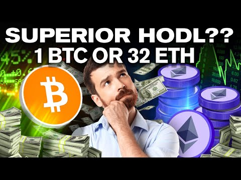 Which Will Make You Richer!? 1 BITCOIN or 32 ETHEREUM?