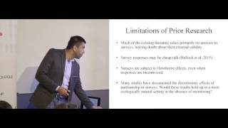 Neil Malhotra - The Economic Consequences of Partisanship in a Polarized Era