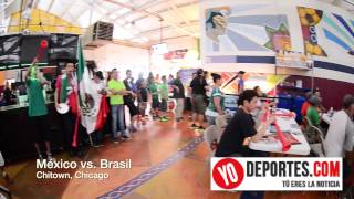 Mexico vs. Brasil en Chitown Chicago