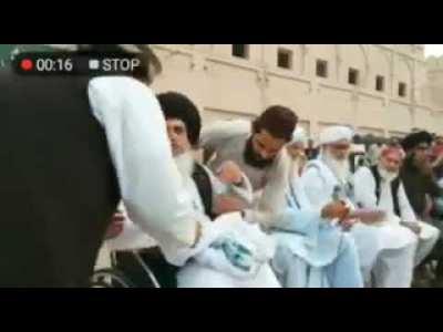 Khadim Hussain Rizvi Wahhabi Ki Azan Ki Koi Izzat Nahin Wahhabi Ko Gali