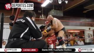 Dante DVS el exótico luchador boricua en Chicago