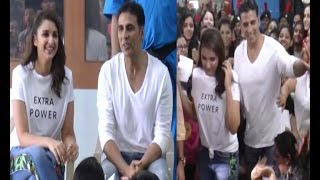 Parineeti, Akshay Kumar attend graduation ceremony of Women Self Defense centre