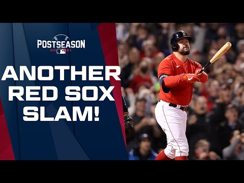 BOSTON SLAM PARTY! The Red Sox get ANOTHER ALCS grand slam courtesy of Kyle Schwarber!