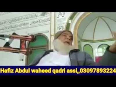 Peer Afzal Qadri Brelvi Tehreek Labaik Pakistan K Ameer Ko Nashai Matric Fail Keh Dia Molvi Exposed