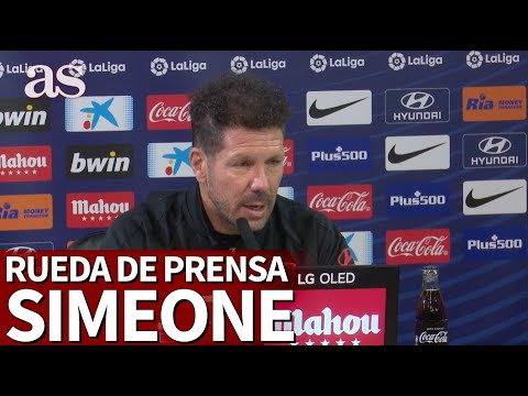 "Simeone: ""Creemos absolutamente João Félix y le necesitamos"" 