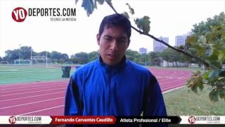 Entrevista con Fernando Cervantes Caudillo corredor elite mexicano