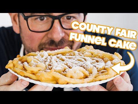 Homemade Funnel Cake Recipe » County Fair Carnival Style