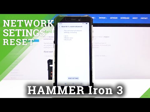 How to Reset Network Settings in Hammer Iron 3 - Remove Wi-Fi & Bluetooth Setup