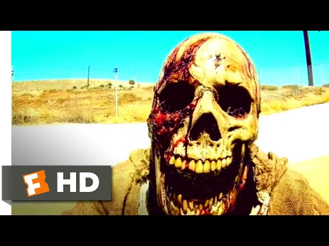 VHS: Viral (2014) - Zombies vs. Skateboarders Scene (9/10) | Movieclips