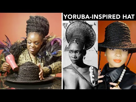Making A Box Braid Hat With Celeb Hairstylist Susy Oludele | Next Level Looks | Glamour