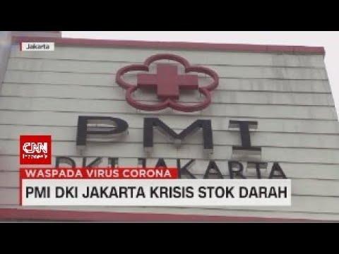 PMI DKI Jakarta Krisis Stok Darah