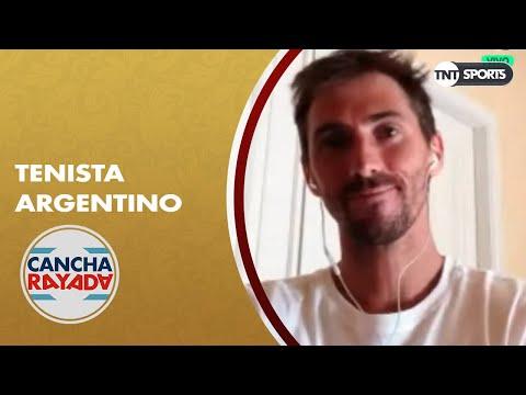 Andrés Molteni y el mundo del tenis desde adentro