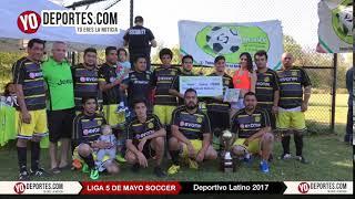 Deportivo Latino Campeón de la Liga 5 de Mayo en Chicago