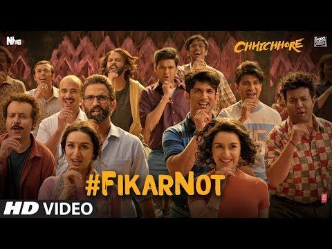 FIKAR NOT SONG LYRICS in ENGLISH&HINDI – Chhichhore 2019 | Sushant Singh Rajput