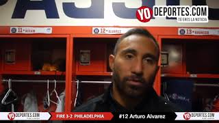 Arturo Alvarez Chicago Fire 3-2 Philadelphia Union