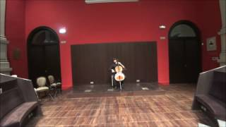 J.S.Bach Allemande Cello Suite 5 C minor BWV 1011, Victor Garcia (cello)
