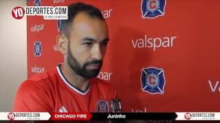 Juninho el nuevo jugador del Chicago Fire 2017
