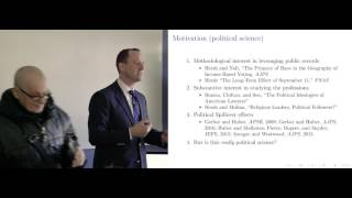 Eitan Hersh - How is physician care affected by party affiliation is the US ?