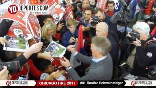 Bastian Schweinsteiger Chicago Fire Press Conference