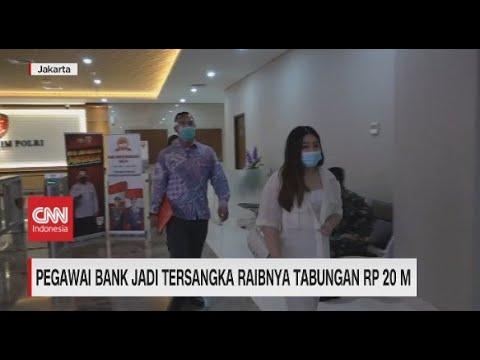 Pegawai Bank Jadi Tersangka Raibnya Tabungan Rp.20 M