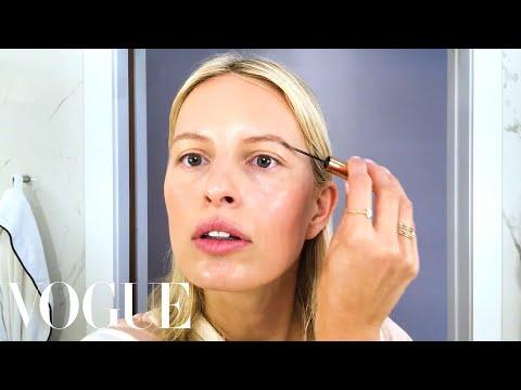 Karolína Kurková's Guide to Super Quick Supermodel Beauty   Beauty Secrets   Vogue