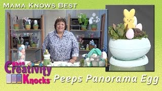 Peeps Panorama Egg