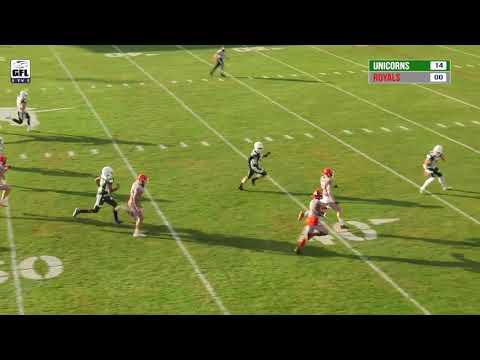 SharkWater GFL 2021 Playoffs: Schwäbisch Hall Unicorns - Potsdam Royals