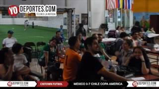 Chitown llora la humillación en la copa América